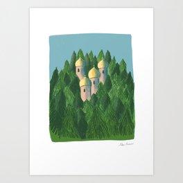 Ein karem  Art Print