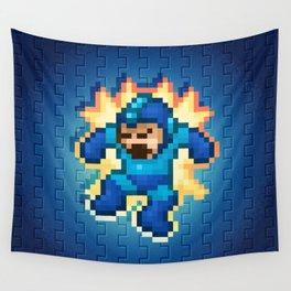 Megaman Damage Wall Tapestry