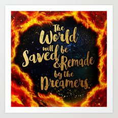By the Dreamers Art Print