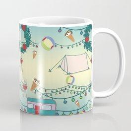 Kiwi Christmas Coffee Mug