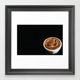 Coffee Cupping Framed Art Print