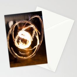 Fire in the hands Stationery Cards