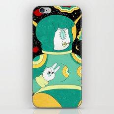 Space Babe iPhone & iPod Skin