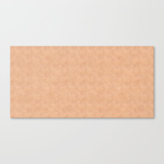 Skin Style Texture With Freckles Canvas Print