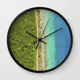 COZUMEL IS AWESOME BY JOSE LUIS POOL SIERRA Wall Clock