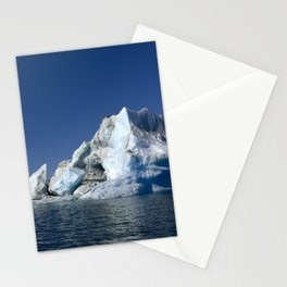 Iceberg in the water Stationery Cards