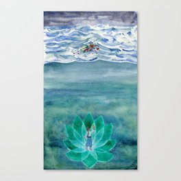 The Mariner Canvas Print