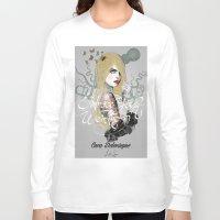 cara Long Sleeve T-shirts featuring Cara by lalinsan