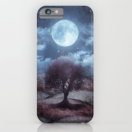 Once upon a time... The lone tree. iPhone & iPod Case