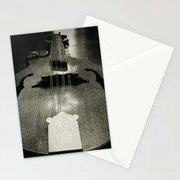 Mandolin tail Stationery Cards