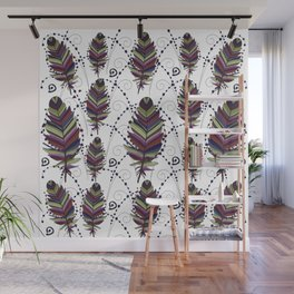 Dance of Feathers Wall Mural