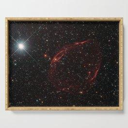 Hubble Space Telescope - Stellar shrapnel / DEM L71 Serving Tray