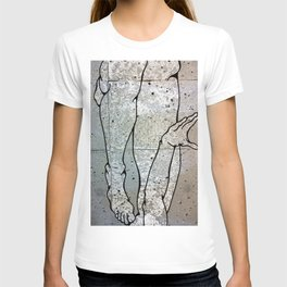 Digital Cave Painting - Reminiscence of Gesture 1 T-shirt