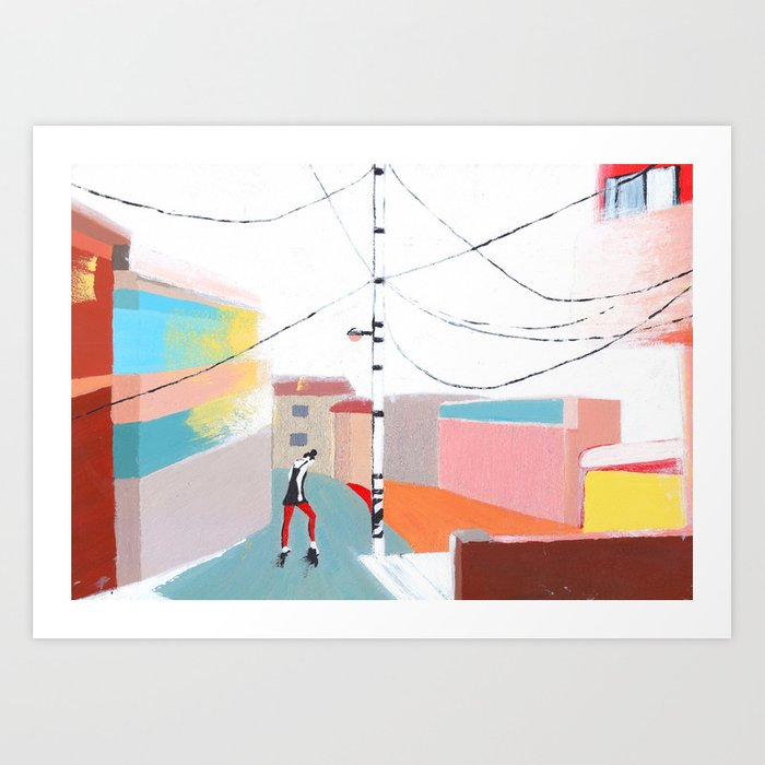 Dancing in the Street Art Print