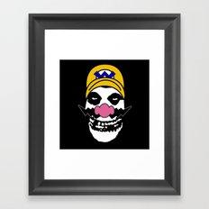 Misfit Wario Framed Art Print