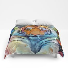 Painted Tiger Comforters