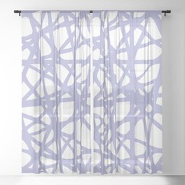 Tangled V Sheer Curtain