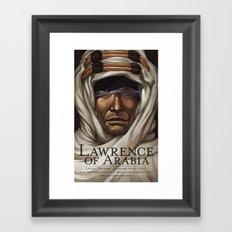 Lawrence of Arabia Framed Art Print