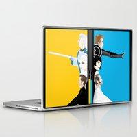 tron Laptop & iPad Skins featuring Tron by Sara E. Snodgrass