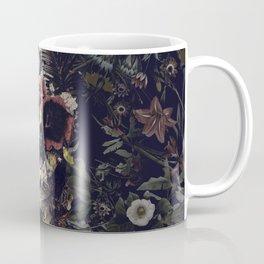 Garden Skull Coffee Mug