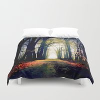 journey Duvet Covers featuring journey by Nev3r