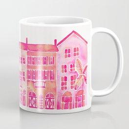Tropical Homes – Pink Ombré Coffee Mug
