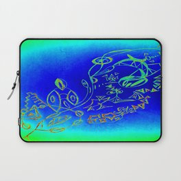 Life in the Ocean Laptop Sleeve
