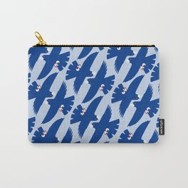 Gyrfalcon - Iceland national symbol, flag colors Carry-All Pouch