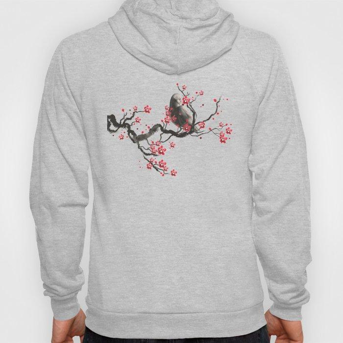Cherry Blossom Raven Hoody