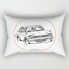 Crazy Car Art 0189 Rectangular Pillow