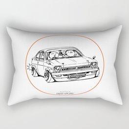 Crazy Car Art 0189 Rectangular Pillow