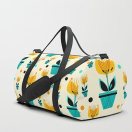 Abstract Flower 2 Duffle Bag