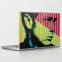 actor Laptop & iPad Skins featuring Idols - James B Dean by Fernando Vieira
