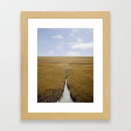 Somewhere in Connecticut 2 Framed Art Print