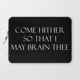 Come hither.... Laptop Sleeve