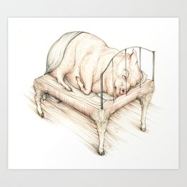 Squealer Art Print