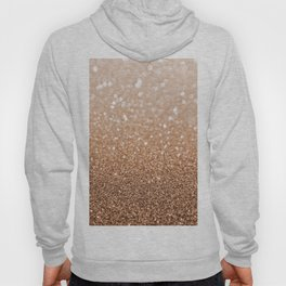 Copper Shiny Powder Texure Hoody