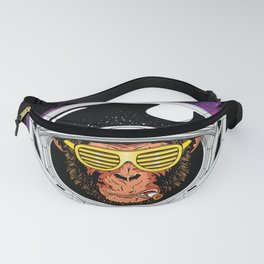 Vintage Space Monkey Fanny Pack