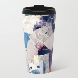 patchy collage Travel Mug