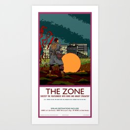 The Zone Poster Art Print