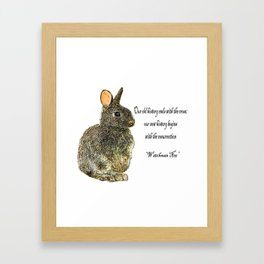 easter quotes desain 1 Framed Art Print