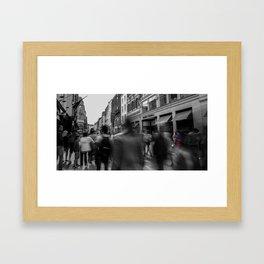 Saxophone Man Framed Art Print