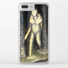 A Walk in the Park Clear iPhone Case