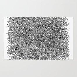 spaghetti texture Rug