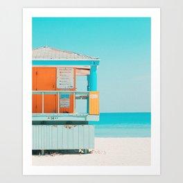 Santa Monica / California Art Print