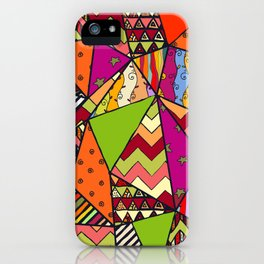 African Style No14, Tribal dance iPhone Case