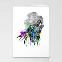 howl Stationery Cards featuring Howl by Kyle Naylor