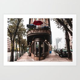 The Pickle Barrel in Chattanooga, Tennessee Art Print