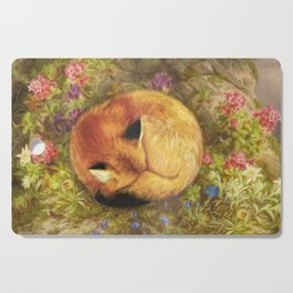 The Cozy Fox Cutting Board