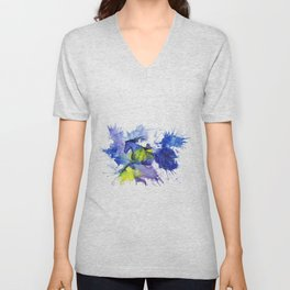 Watercolor and Ink Horse Unisex V-Neck